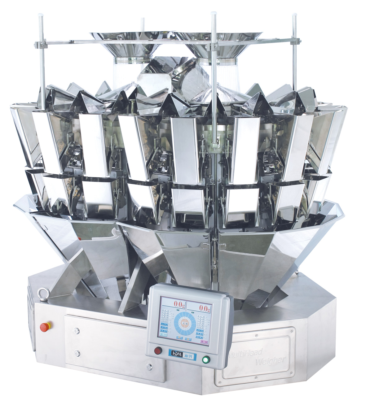 18 heads weigher touch screen