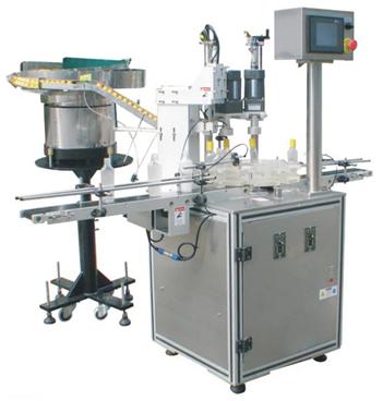 Automatische, fixerende dop montagemachine